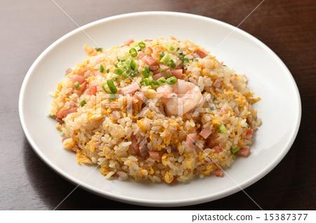 Five fried rice 15387377