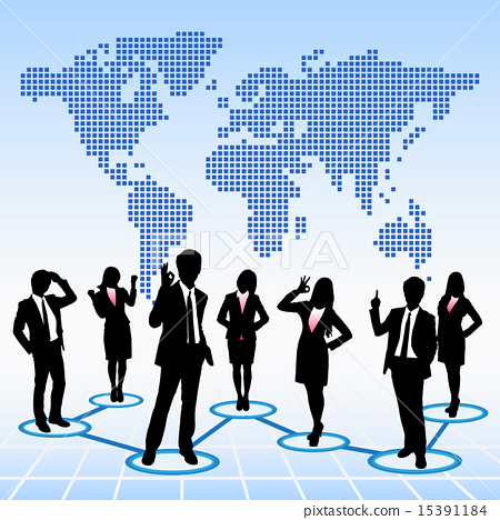 Global human resources concept 15391184