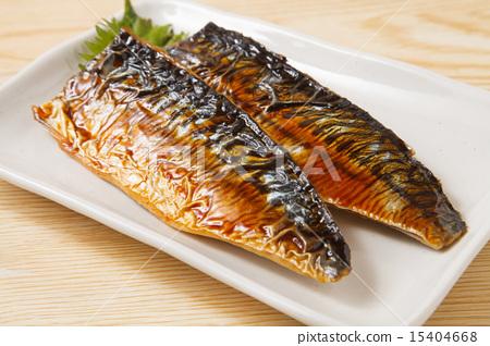 Teriyaki with mackerel 15404668