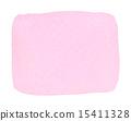 透明水彩(長方形·粉紅色) 15411328