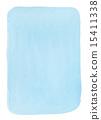 透明水彩(矩形垂直/藍色) 15411338