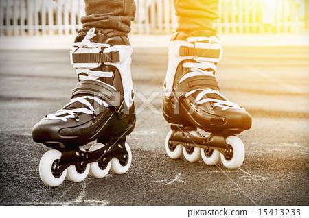 walk on roller skates for skating 15413233