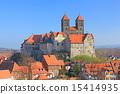 山丘 城堡 德國 15414935