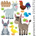 Farm animals set 3 15415751