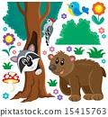 Forest animals theme set 3 15415763
