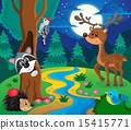 Forest animals topic image 8 15415771