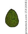 鳄梨成熟 15416481
