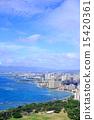 瓦胡島 名勝 海島 15420361