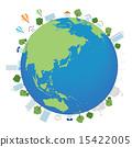 城市風光 地球 土 15422005
