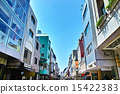 Scenery of the sunny Yokohama Motomachi shopping street 15422383