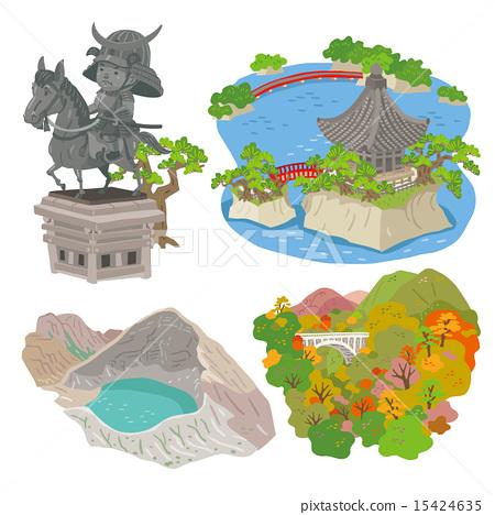 Miyagi Tourist Attraction 15424635