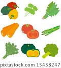 蔬菜 一組 矢量 15438247