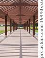 木製走廊結構 15440556