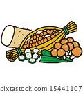 一组 粘的 营养品 15441107