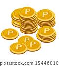 硬幣 矢量 錢幣 15446010