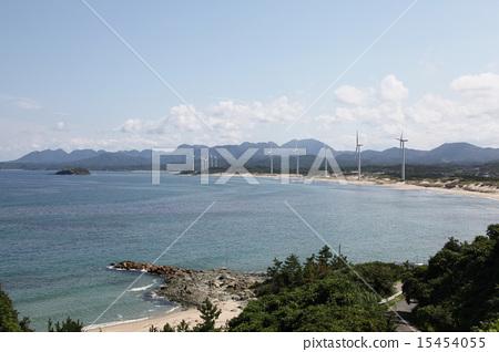 海和風車視圖 15454055