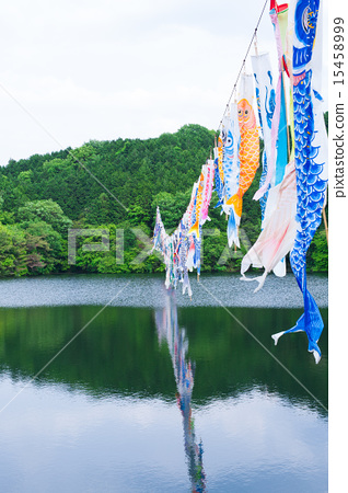 Koinobori Landscape 15458999