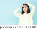 headache, fever, female 15459304
