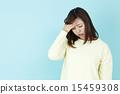 headache, fever, female 15459308