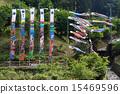 A rising flag and a carp streamer 15469596
