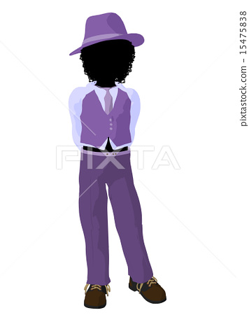 African American Teen Business Illustration 15475838