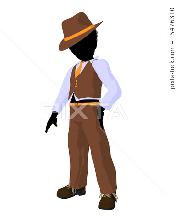 African American Teen Business Illustration 15476310
