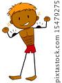 Muscular boy 15479275