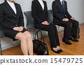 找工作找工作就業簡介公司等待公司訪問面試 15479725