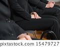 找工作找工作就業簡介公司等待公司訪問面試 15479727