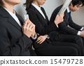 找工作找工作就業簡介公司等待公司訪問面試 15479728