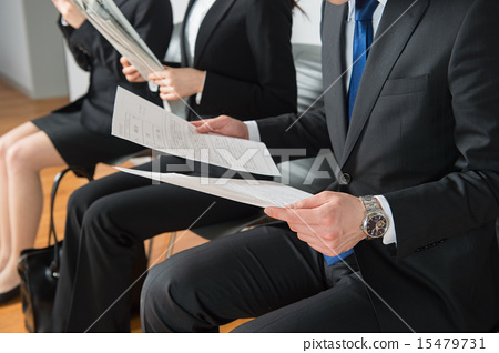 找工作找工作就業簡介公司等待公司訪問面試 15479731