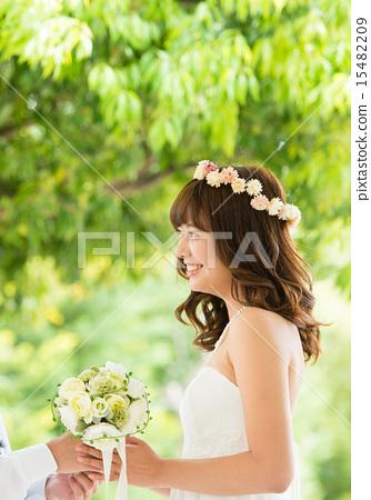 新娘 婚禮 花束 15482209