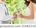 婚礼 新郎新娘 晚宴服 15482210