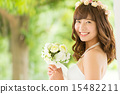 wedding, dress, bride 15482211