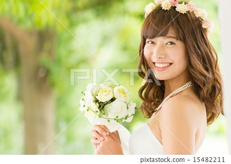 婚纱 婚礼 新娘 15482211