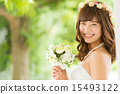 wedding, dress, bride 15493122