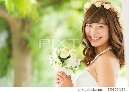 婚纱 婚礼 新娘 15493122