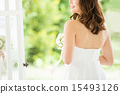 婚纱 婚礼 新娘 15493126