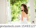 婚纱 婚礼 新娘 15493127