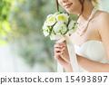 婚纱 夫人 雌 15493897