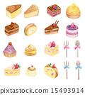 蛋糕 甜品 甜食 15493914