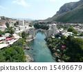 neretva, river, mostar 15496679
