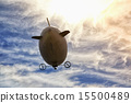 airship in the sky 15500489