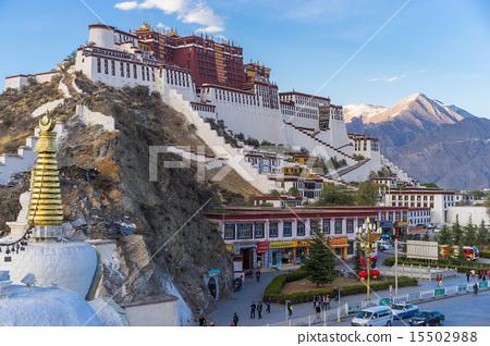 世界遺產西藏拉薩的布達拉宮 15502988