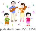 家族で演奏会 15503158