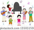 家族で演奏会 15503159