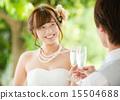 新娘 婚禮 祝酒 15504688