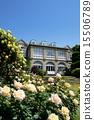 ห้องโถง Hatoyama และดอกกุหลาบ 15506789
