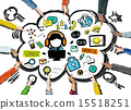 Customer Service Help Business Service Solution Support Concept 15518251