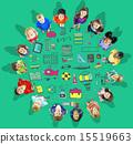 School Activity Sport Hobby Leisure Game Concept 15519663